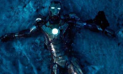 Iron Man 3 Christmas Movie Snow