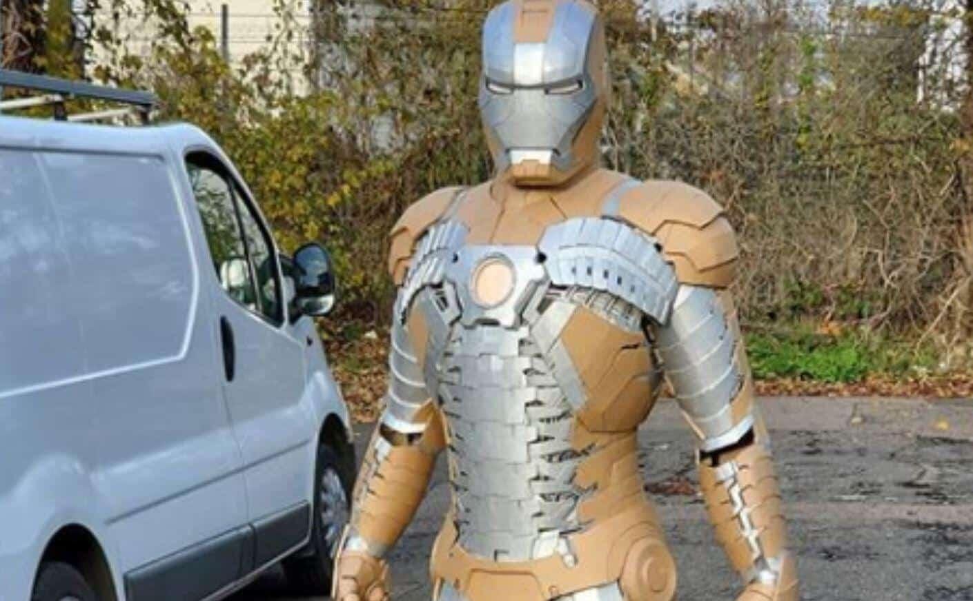 Iron Man Cardboard Suit