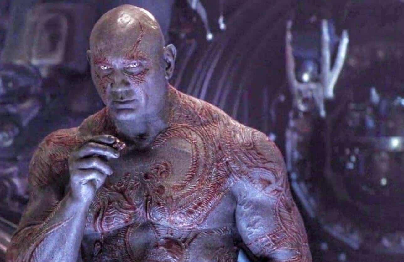James Gunn Drax Invisible