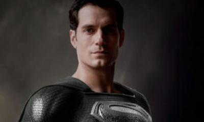 Justice League Snyder Cut Black Superman Suit