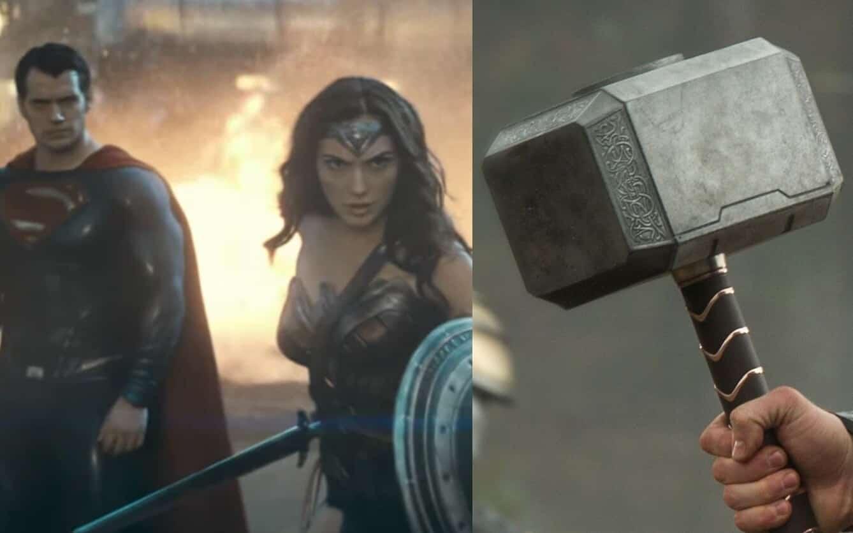 Mjolnir Superman Wonder Woman