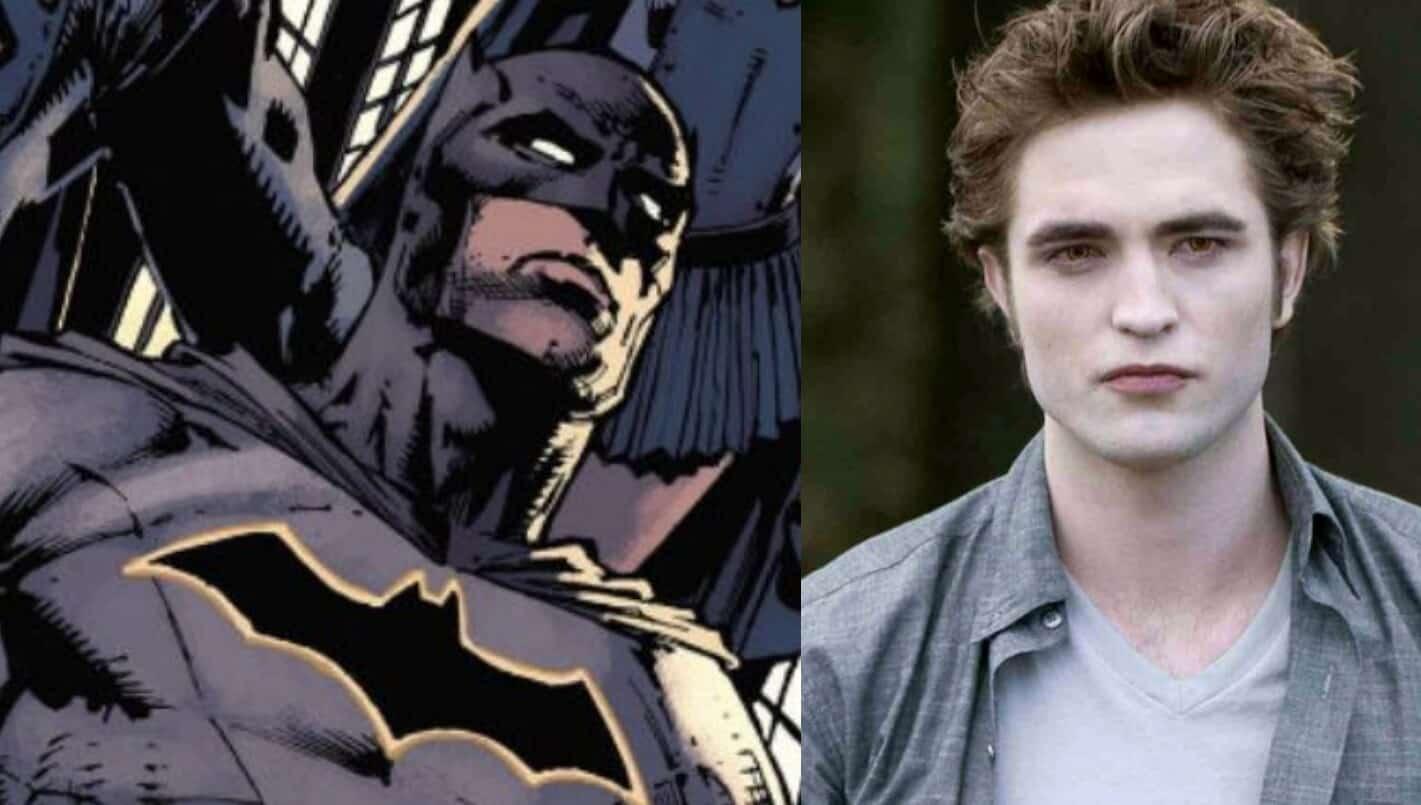 Batman Bruce Wayne Robert Pattinson