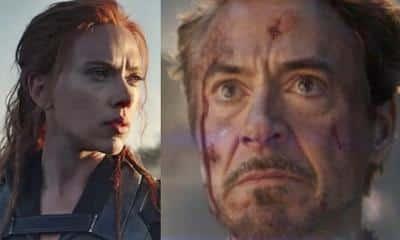 Black Widow Iron Man Tony Stark
