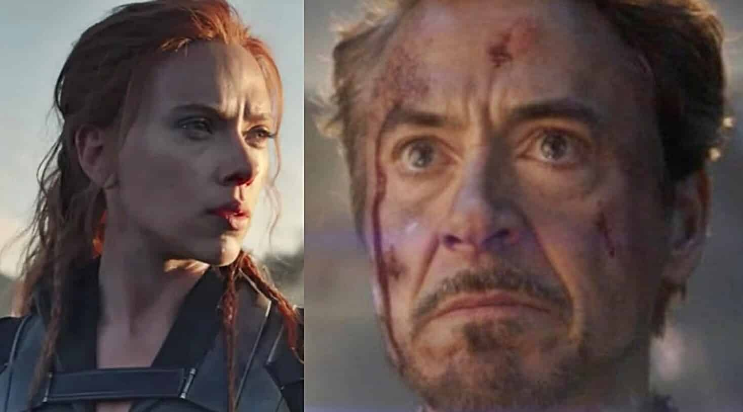 Black Widow Iron Man Tony Stark
