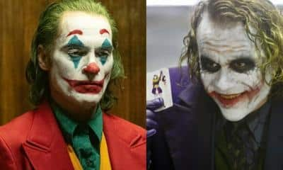 Joker Joaquin Phoenix Heath Ledger