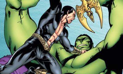 Hulk Namor Marvel
