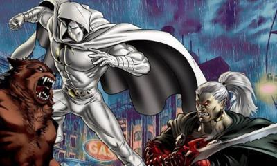 Moon Knight Dracula Werewolf By Night