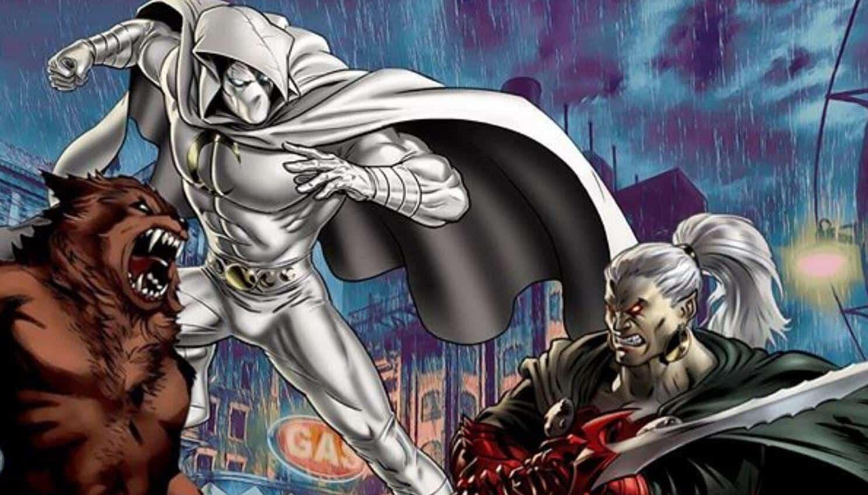 Moon Knight Dracula Werewolf By Night