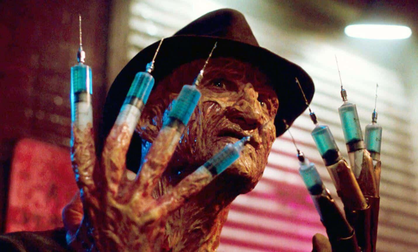 A Nightmare On Elm Street 3 Robert Englund Freddy Krueger