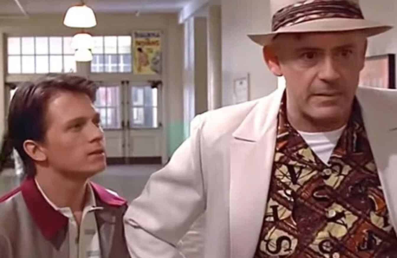 Back To The Future Tom Holland Robert Downey Jr.
