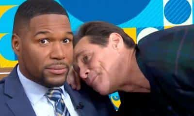 Jim Carrey Michael Strahan