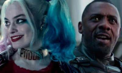 The Suicide Squad Margot Robbie Idris Elba