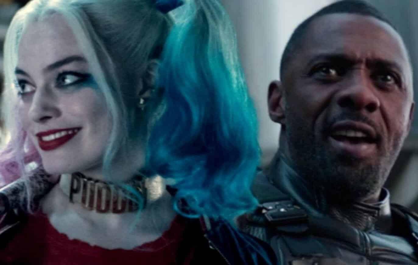 The Suicide Squad Margot Robbie Idris Elba