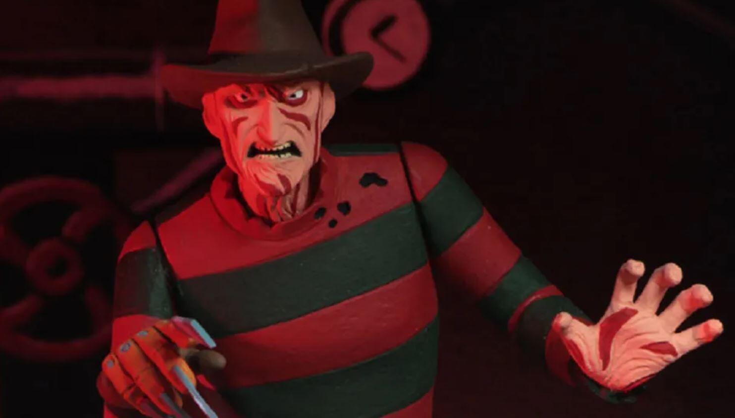 a nightmare on elm street freddy krueger animated
