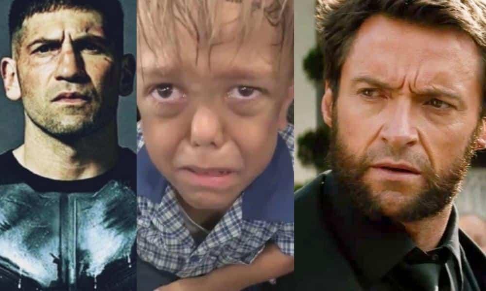 Quaden Bayles Hugh Jackman Jon Bernthal Celebrities