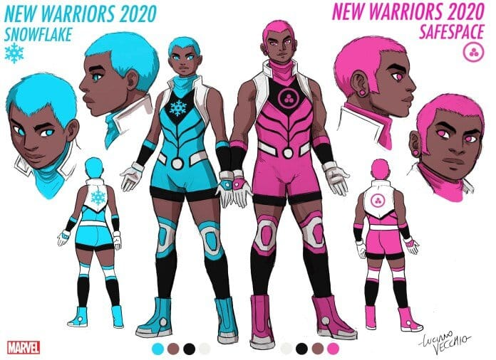 snowflake safespace new warriors 2020