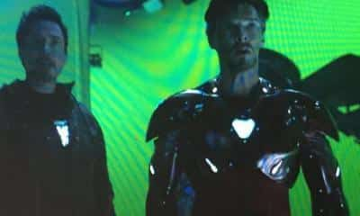 avengers: infinity war iron man doctor strange