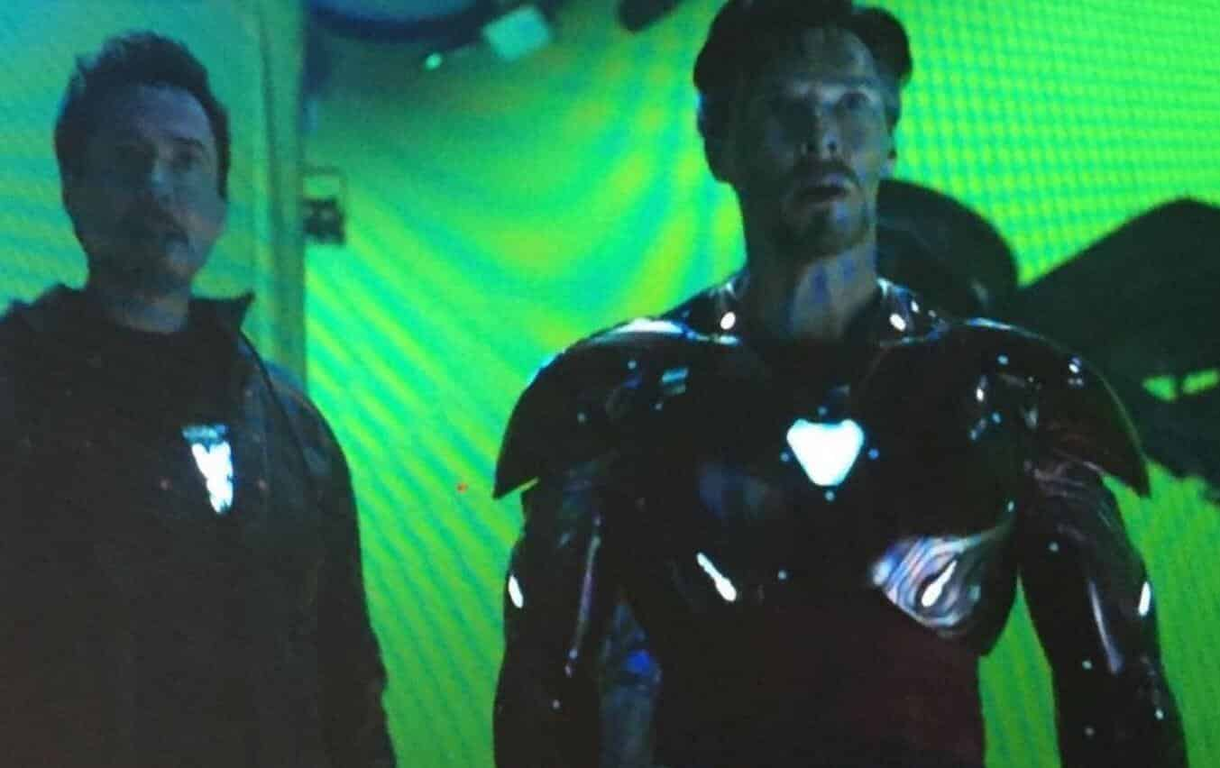 Avengers: Infinity War' Deleted Shot With Doctor Strange In Iron ...