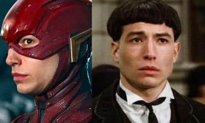 Ezra Miller The Flash Fantastic Beasts