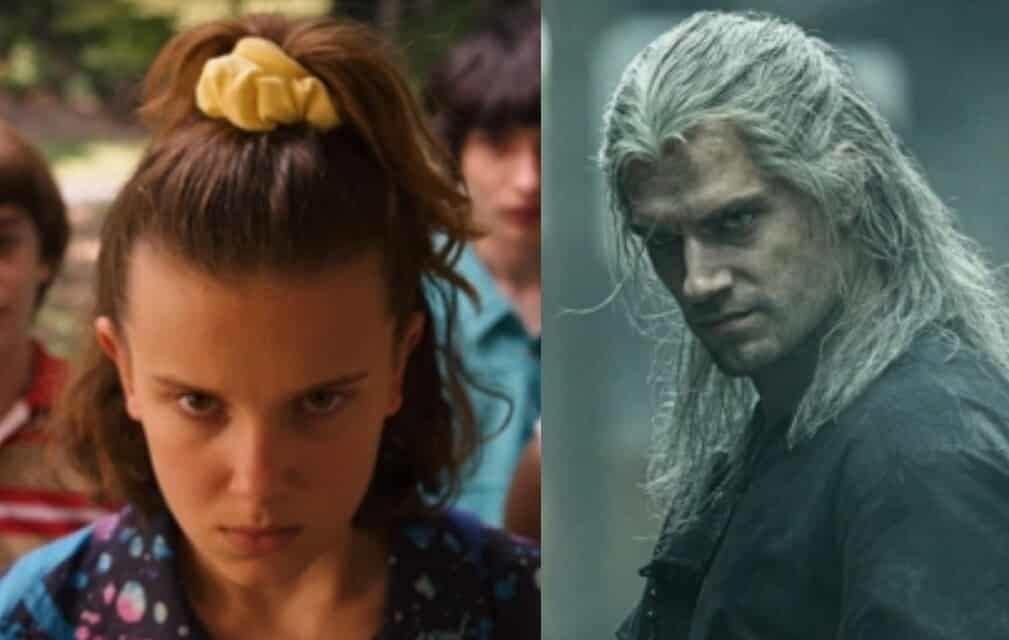 netflix stranger things the witcher