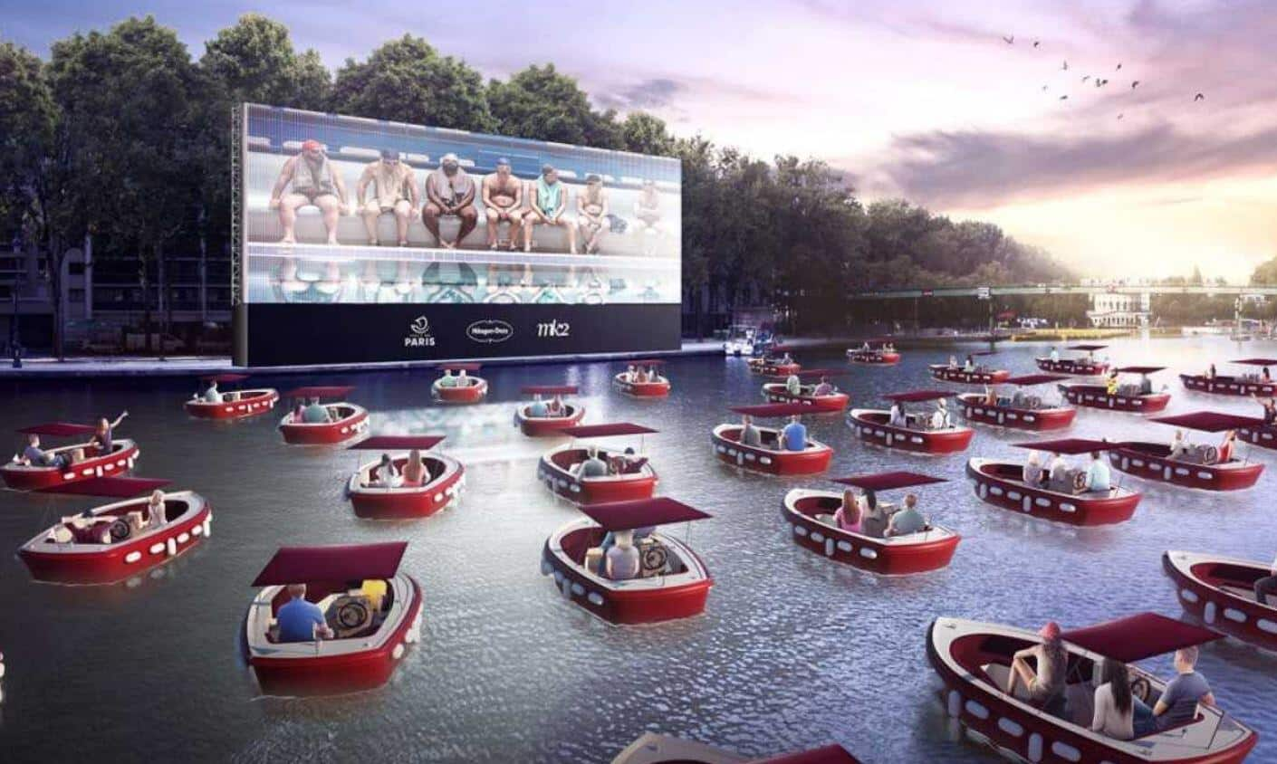 floating cinemas