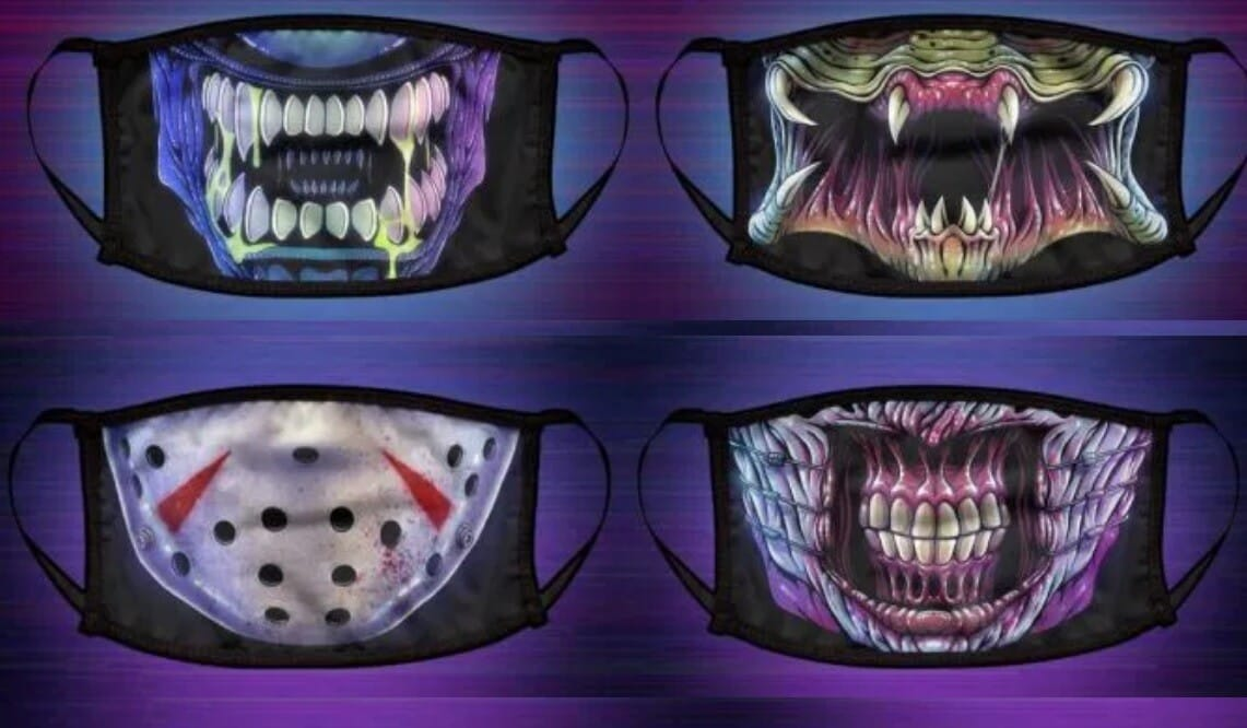 horror face masks