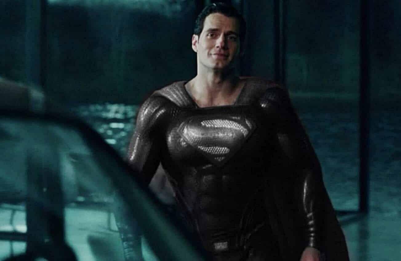justice league black superman suit
