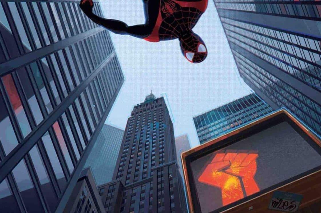 spider-man: miles morales marvel black lives matter