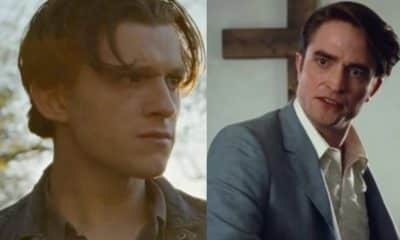 the devil all the time tom holland robert pattinson