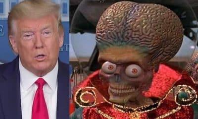 donald trump aliens