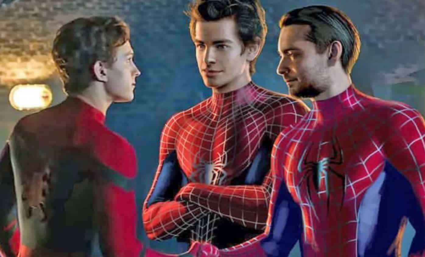 spider-man 3 tobey maguire andrew garfield tom holland