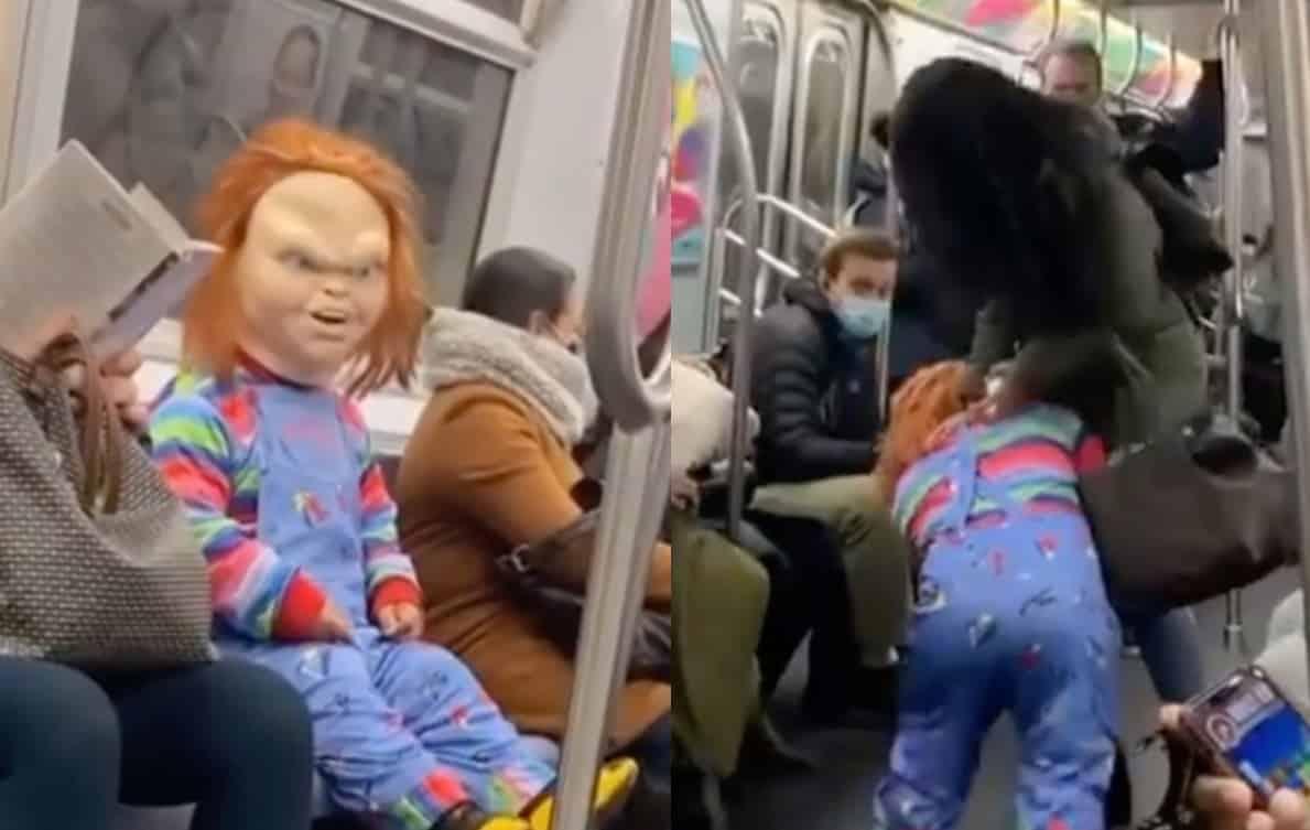 chucky subway prank