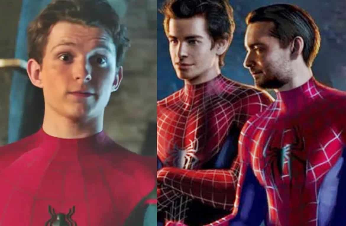 spider-man 3 tom holland tobey maguire andrew garfield