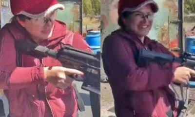 gina carano shooting range