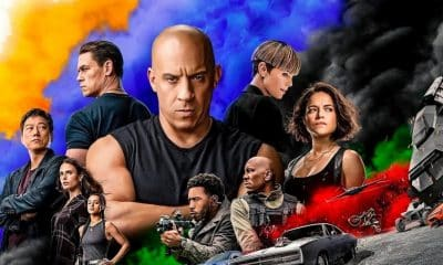 F9 The Fast Saga movie poster