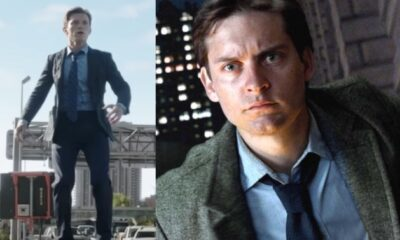 spider-man: no way home tom holland tobey maguire