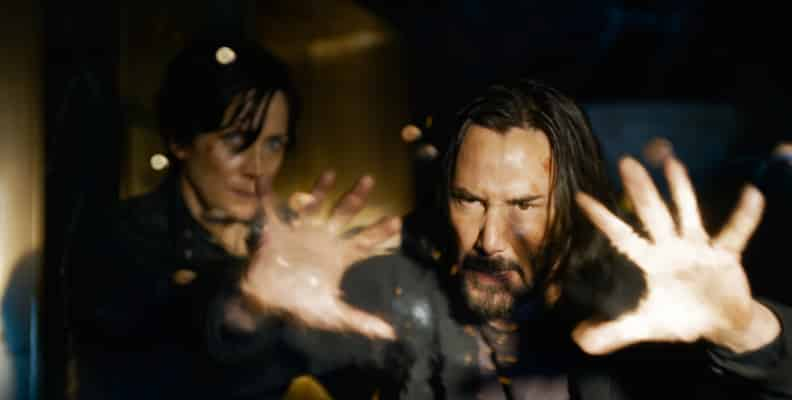 The matrix resurrections Keanu Reeves Carrie Anne Moss1